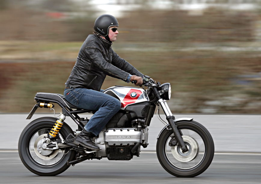 cafemoto bmw 002: stripped down flying brick « motorcycledaily