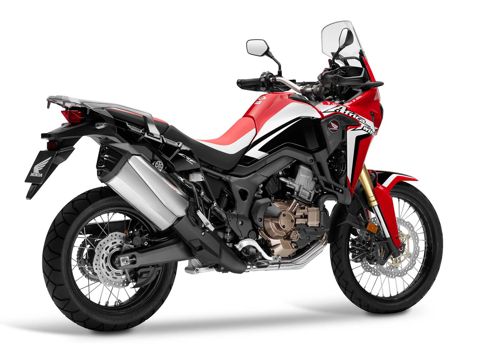 Honda 2016 CRF1000L Africa Twin: Full English Language ...