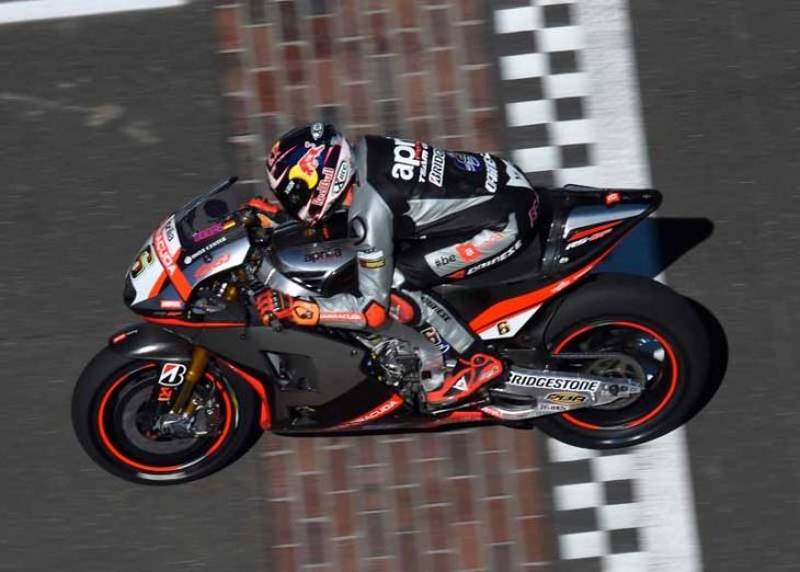 APRILIA RACING TEAM GRESINI - Indianapolis Grand Prix, Free Practice