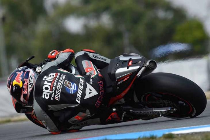 Aprilia Racing 081515