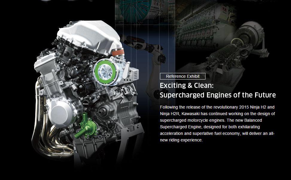 Kawasaki Balanced Supercharged Engine Concept