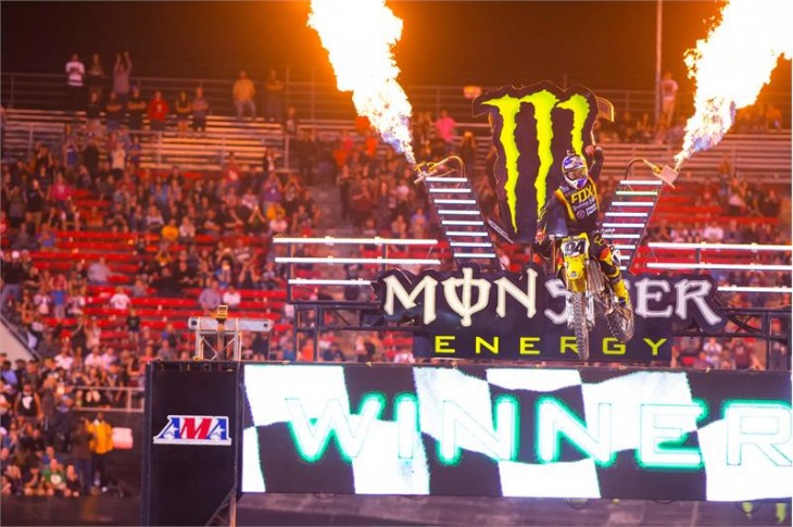 Monster Energy Cup 102115