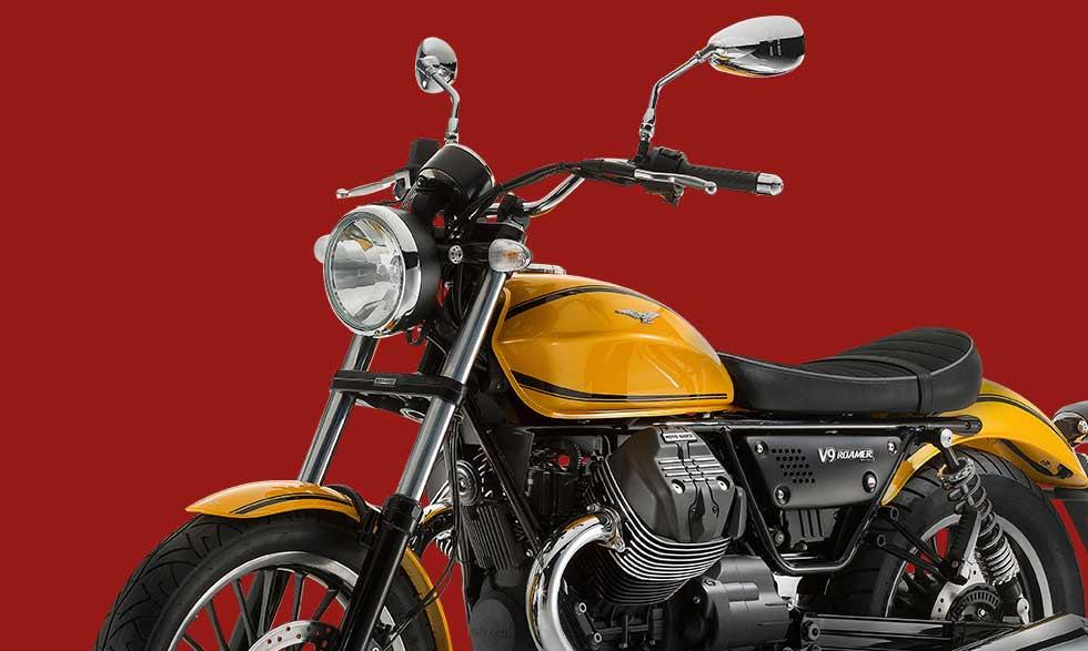 new moto guzzi v9 roamer and bobber feature 850cc v twin. Black Bedroom Furniture Sets. Home Design Ideas