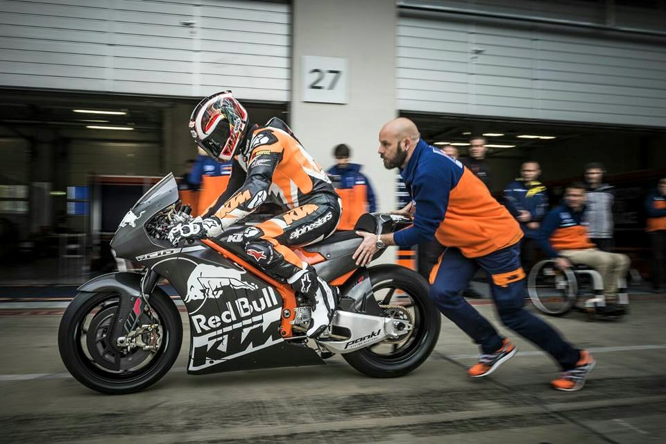 KTM MotoGP Bike Already Testing in Anticipation of 2017 Race Debut ...