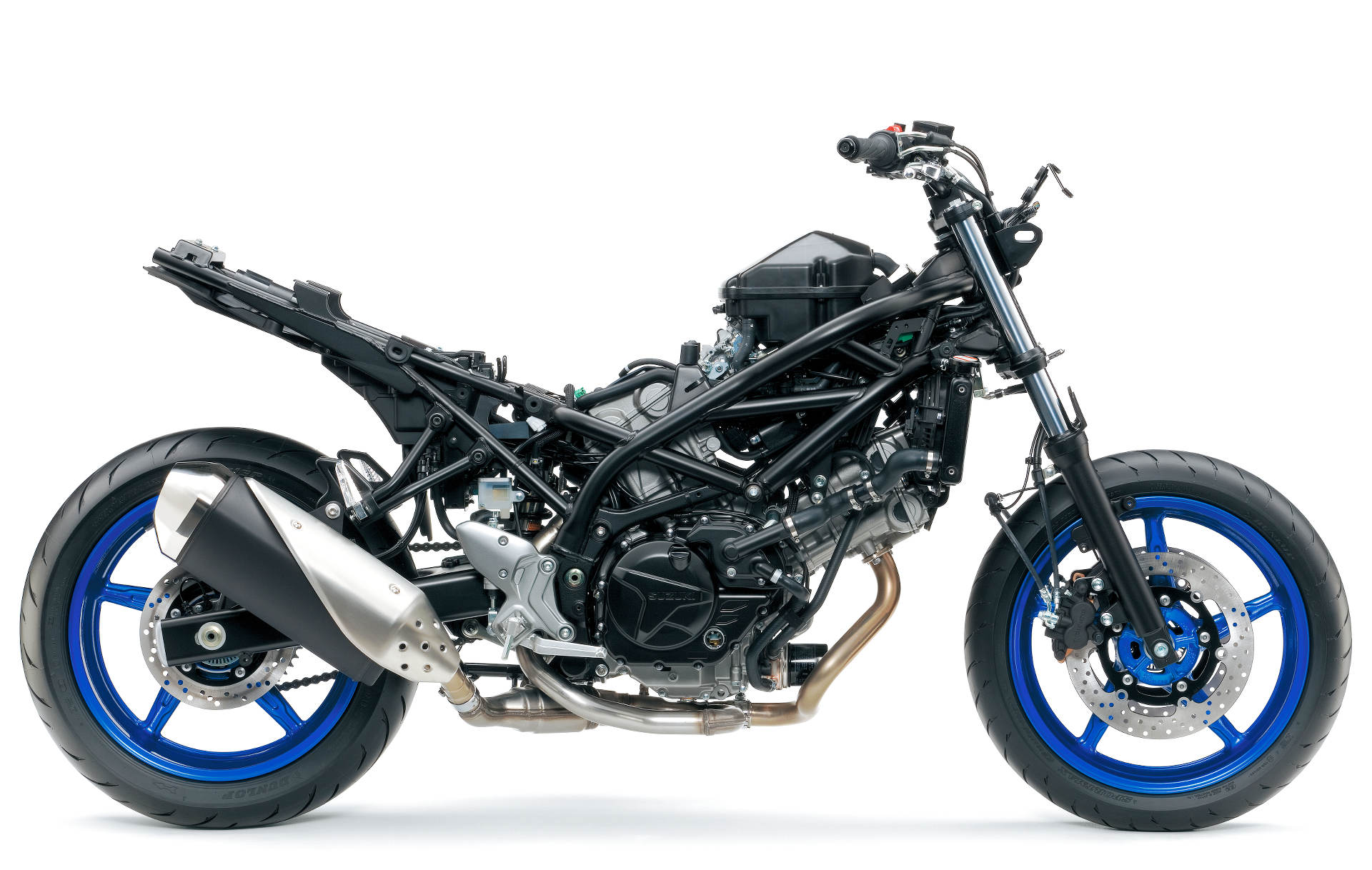 suzuki brings back the sv650 with more power and less weight
