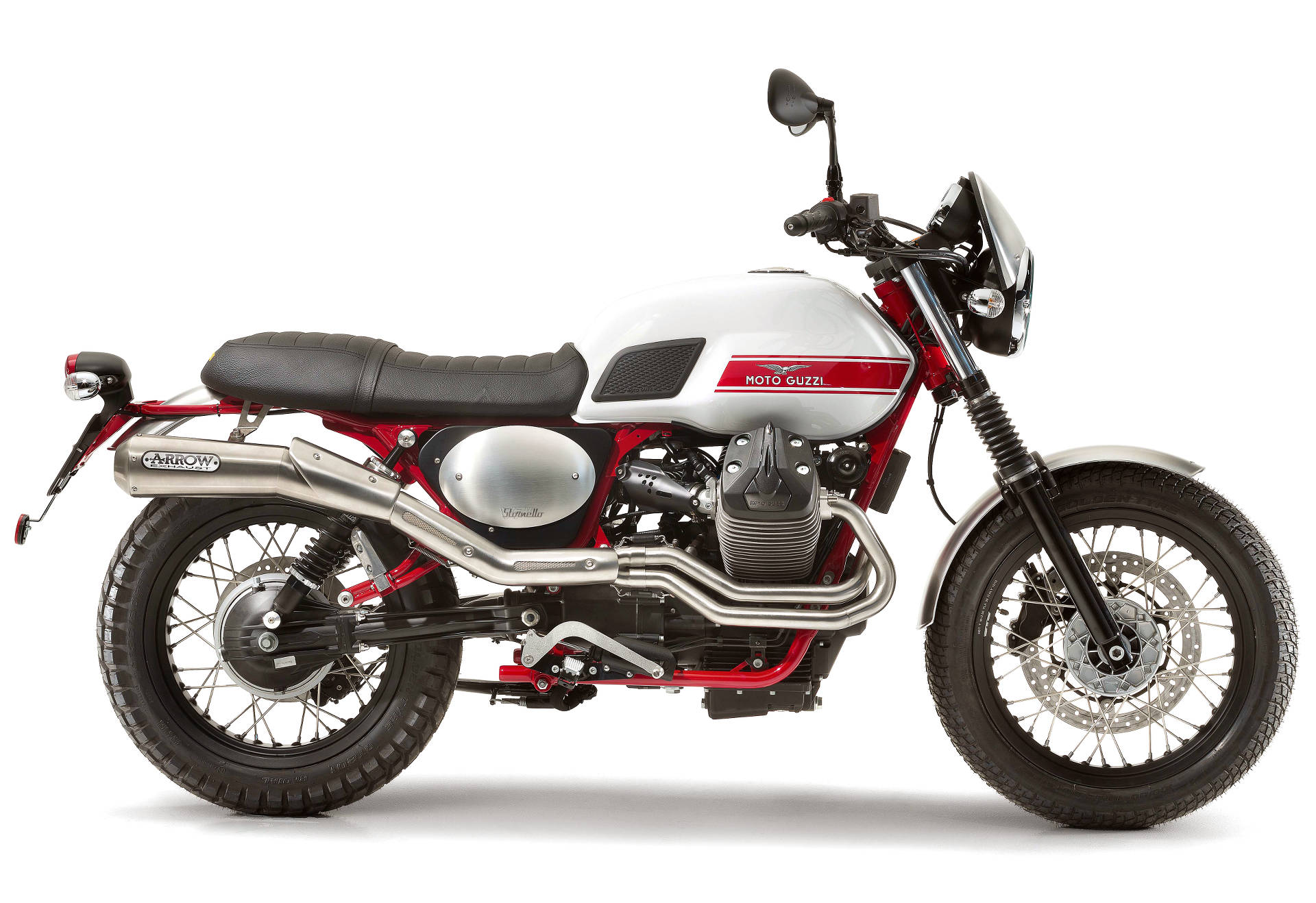 Moto Guzzi Catches Scrambler Wave With New V7 Ii Stornello