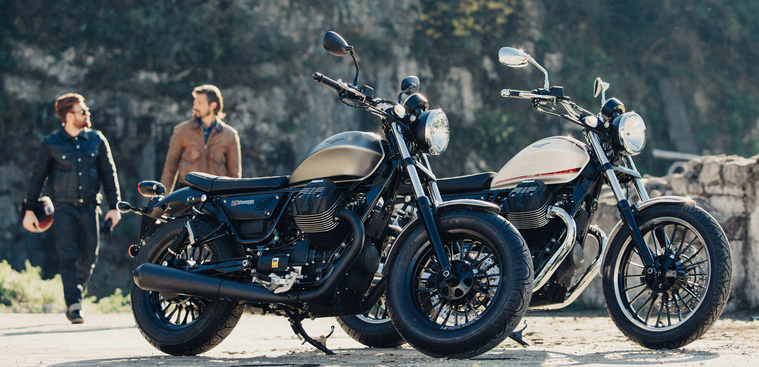 New Moto Guzzi V9 Roamer And Bobber Feature 850cc V Twin