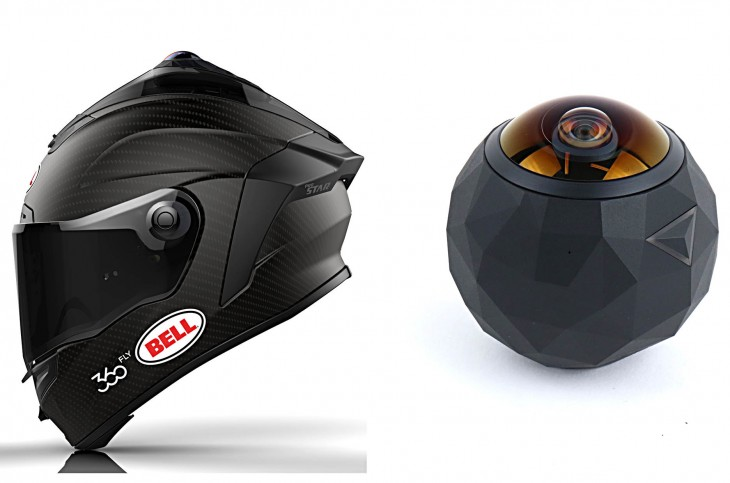 New Bell Helmets Incorporate 360-Degree Video Camera ...