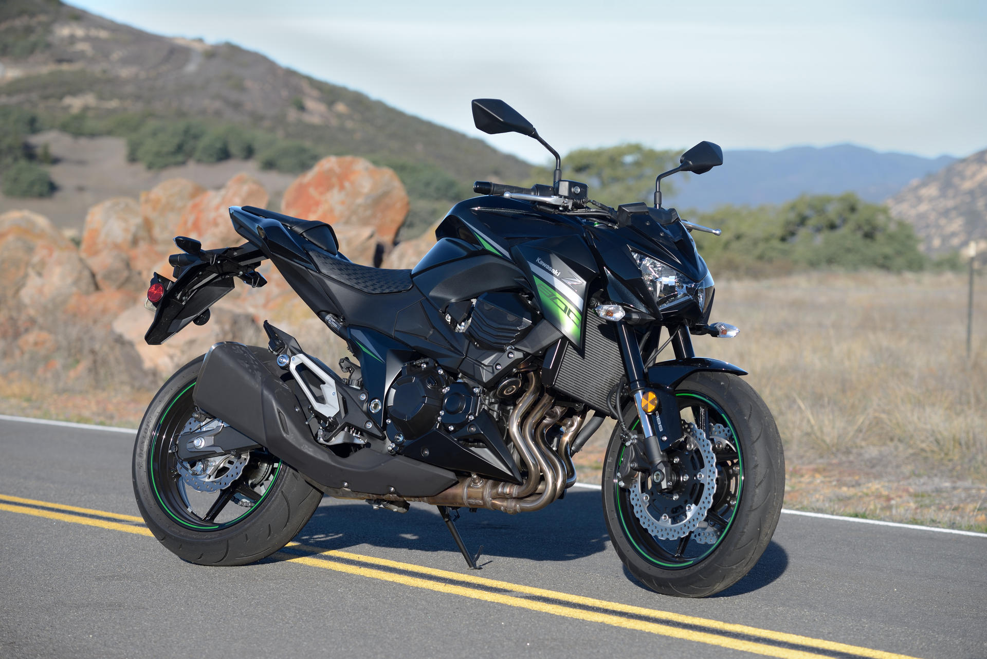 2016 Kawasaki Z800 ABS MD Ride Review MotorcycleDaily