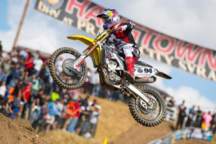 Roczen won at Hangtown for the second time in his career. Photo: Simon Cudby