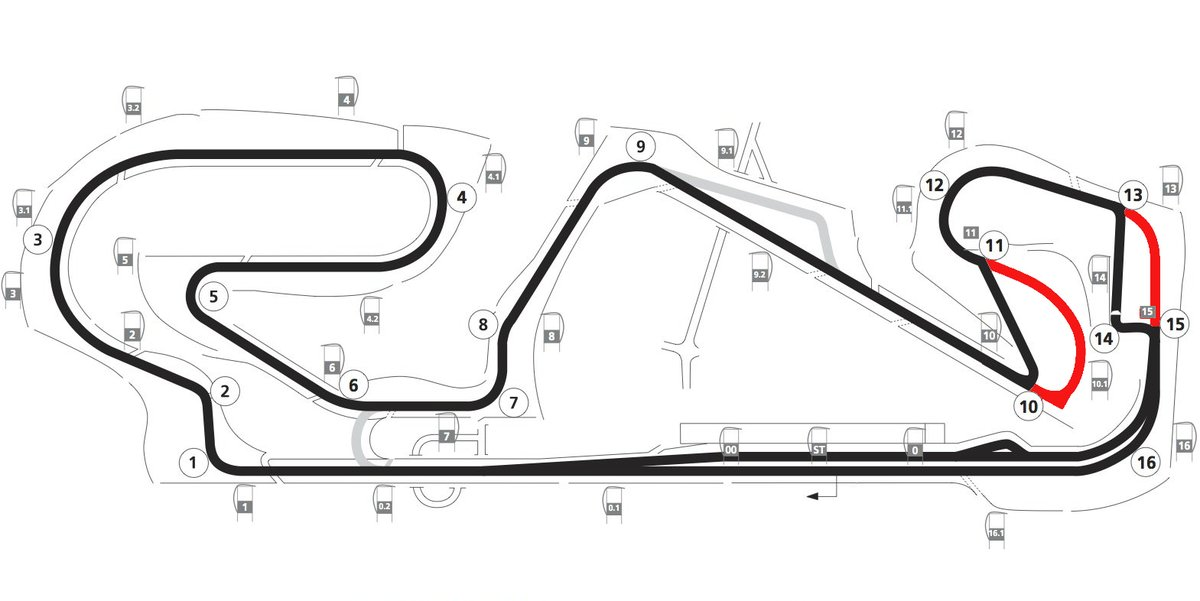 catalunya track modified as a result of salom tragedy