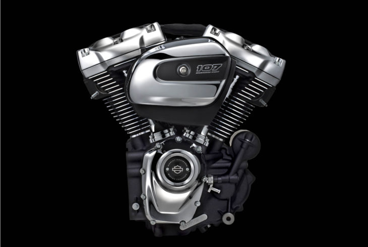 MY17 107 Engine. Milwaukee Eight.