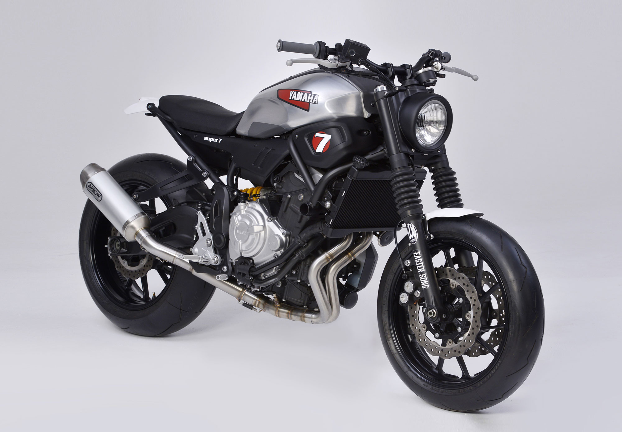 JvB Moto Yard Built Yamaha XSR700 Clean Take On The Excellent