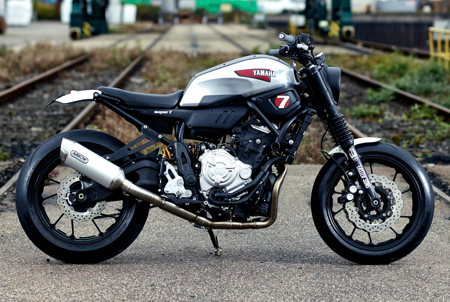 This One Based Largely On The Ultra Light Powerful Yamaha FZ 07 Was Created By JvB Moto In Germany And Is Called