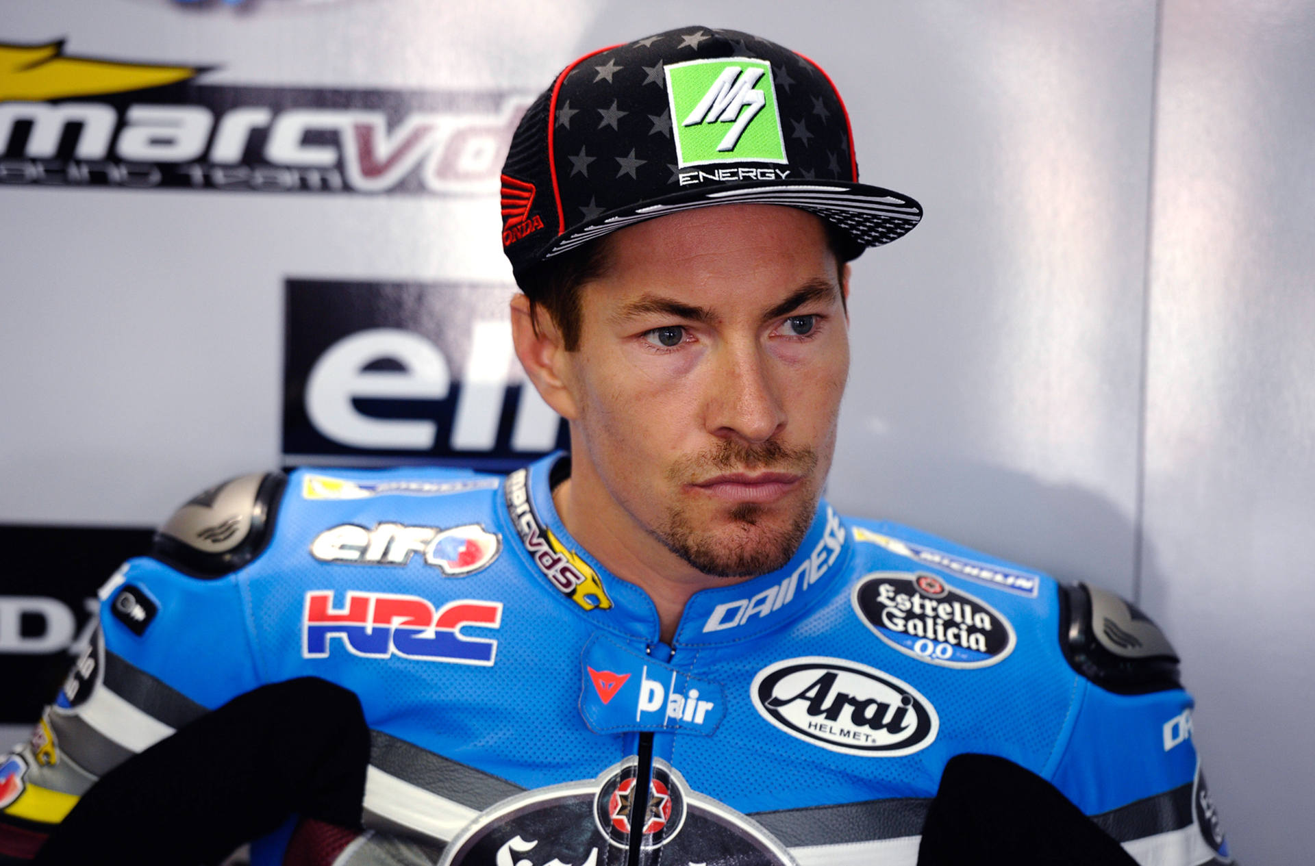 Nicky Hayden S Aragon Motogp Guest Ride Off To Slow Start Motorcycledaily Com Motorcycle News Editorials Product Reviews And Bike Reviews