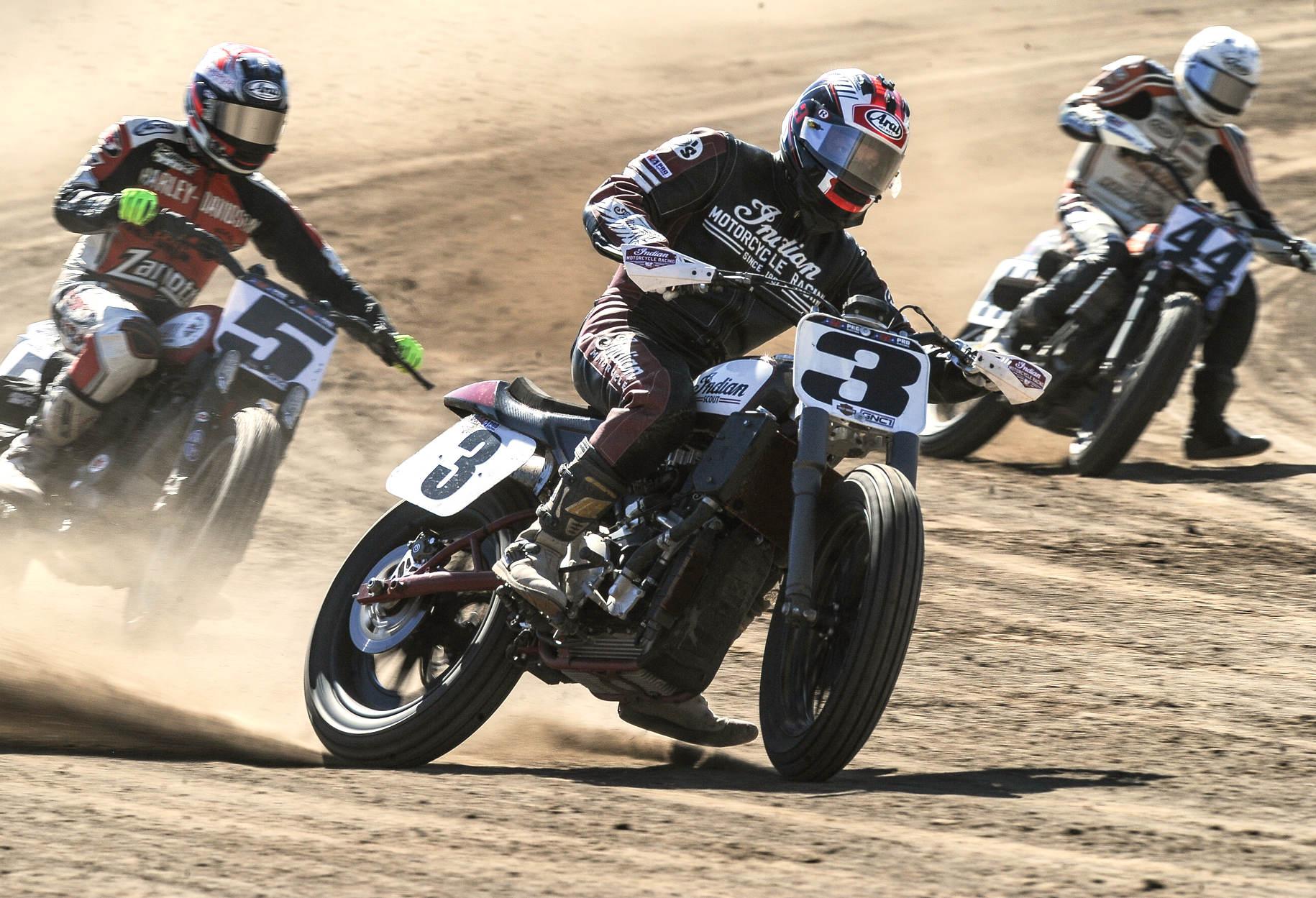 fist motorcycle race