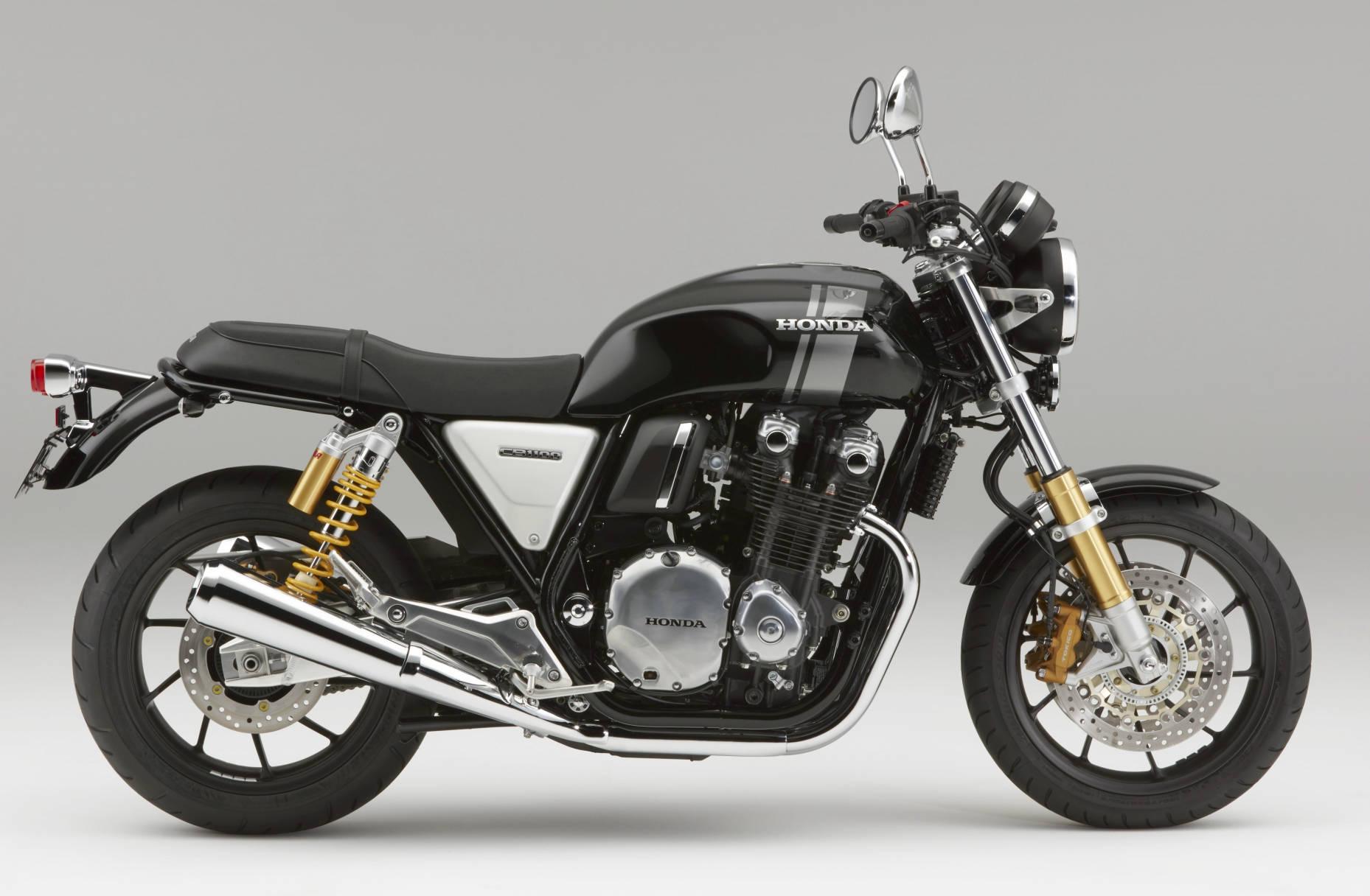 honda updates cb1100 range; includes sportier rs model