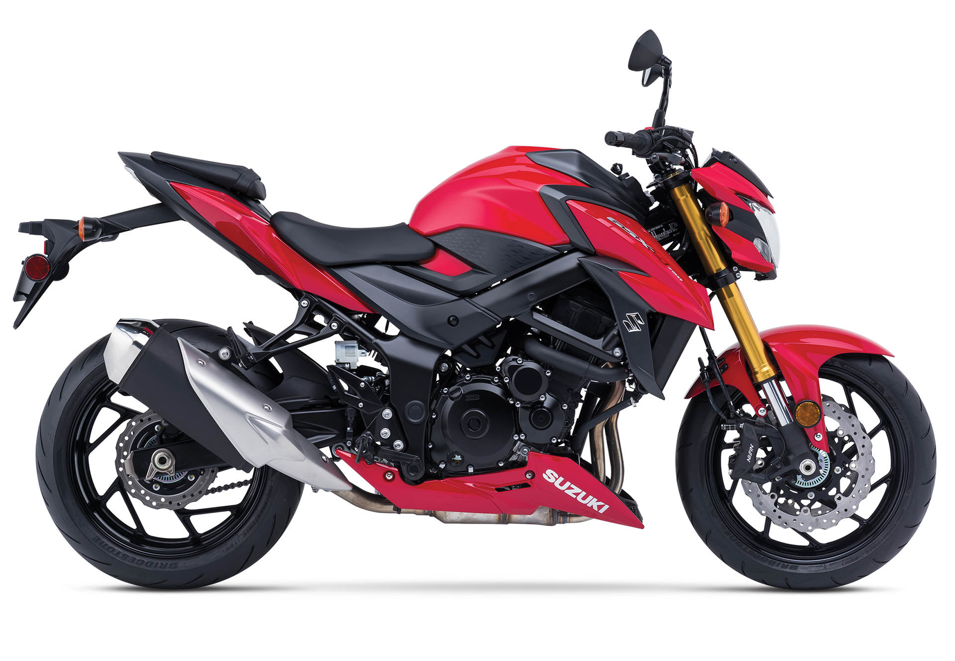 2018 suzuki motorcycles. wonderful motorcycles suzuki brings big changes to 2018 gsxs750 and s750z to suzuki motorcycles