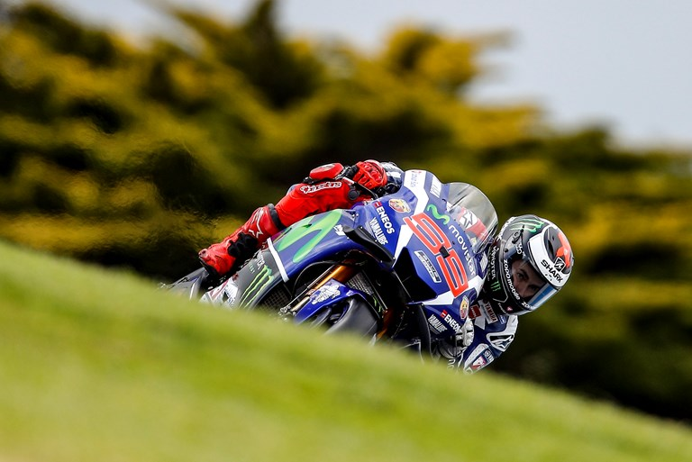 Movistar Yamaha MotoGP Take Fourth and Fifth Row in Tricky Phillip Island Qualifying ...