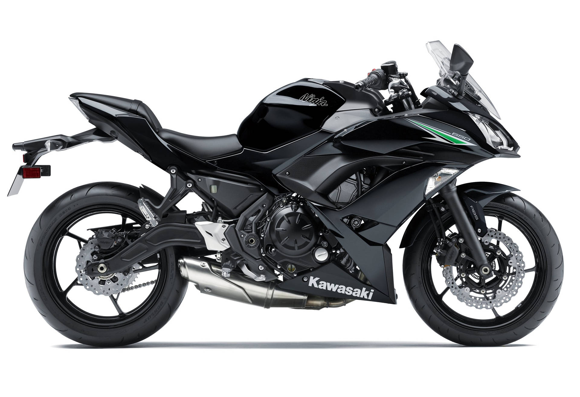 much lighter 2017 ninja 650 abs coming to us