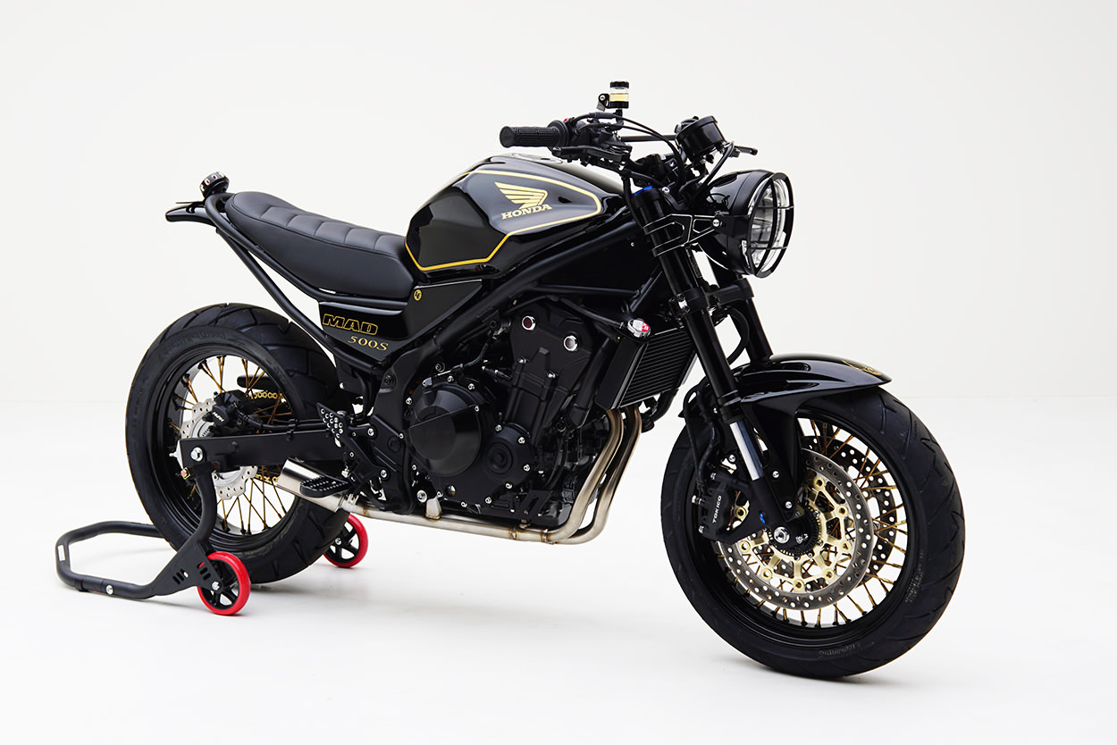 The Honda Cb500f You Really Wanted Mad Industries Scrambler
