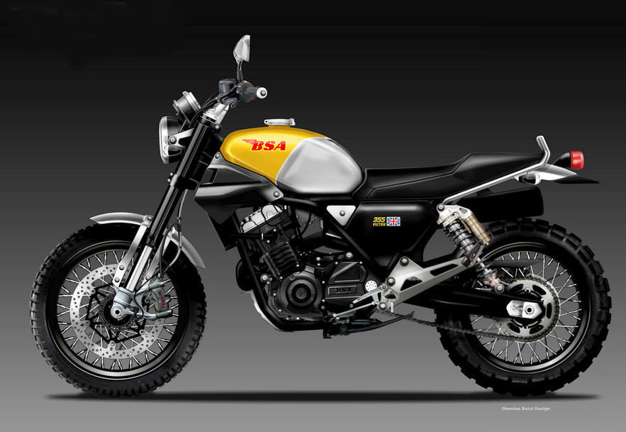 Oberdan Bezzi Imagines A New Bsa Produced By Mahindra