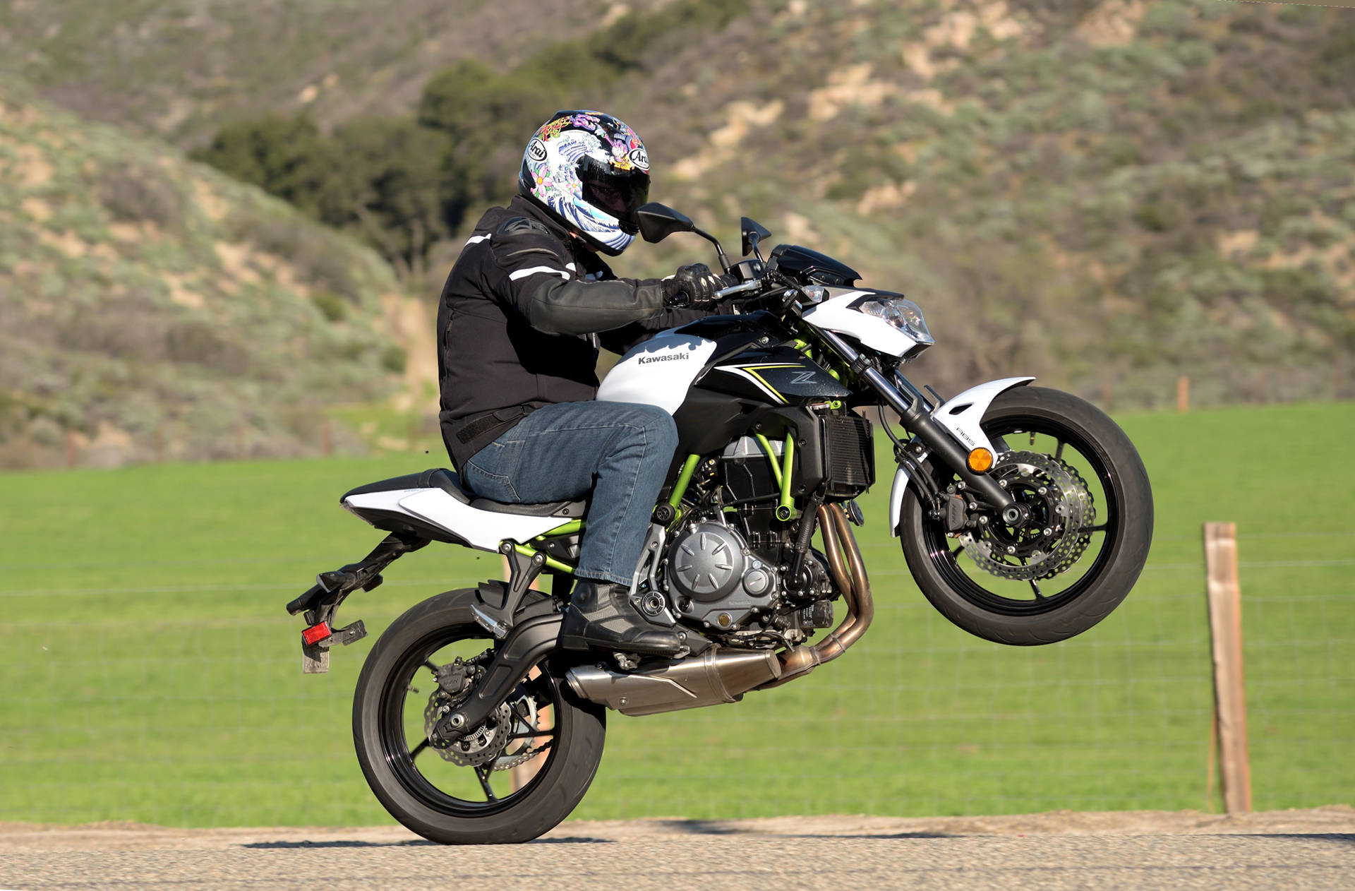 2017 Kawasaki Z650 MD Ride Review Part Two