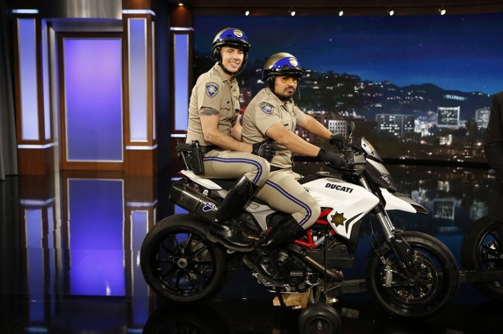 What Ducati Motorcycles Were Used In Chips Movie
