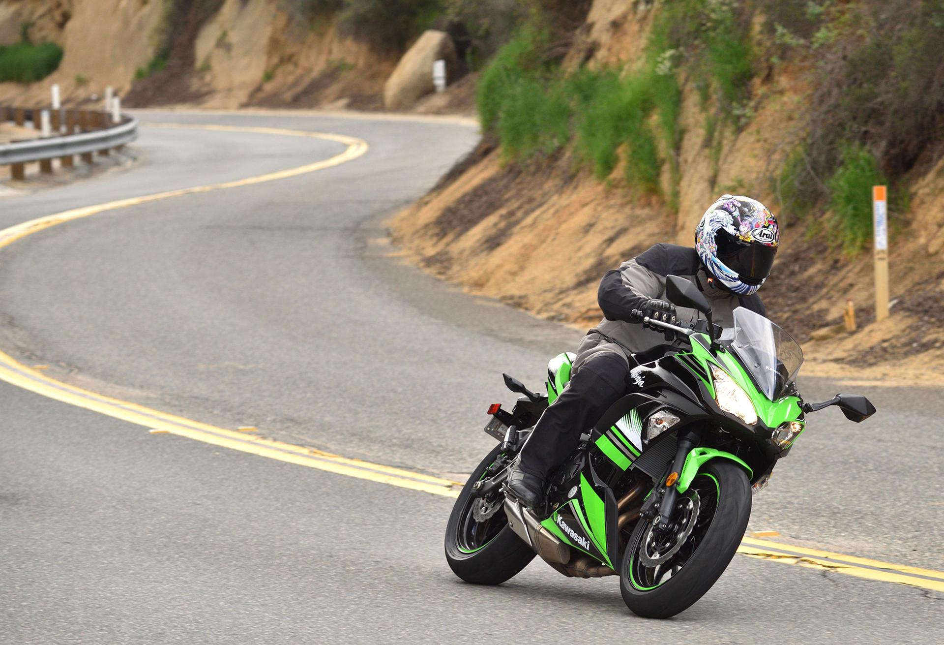 2017 Kawasaki Ninja 650 Md Ride Review Motorcycledailycom