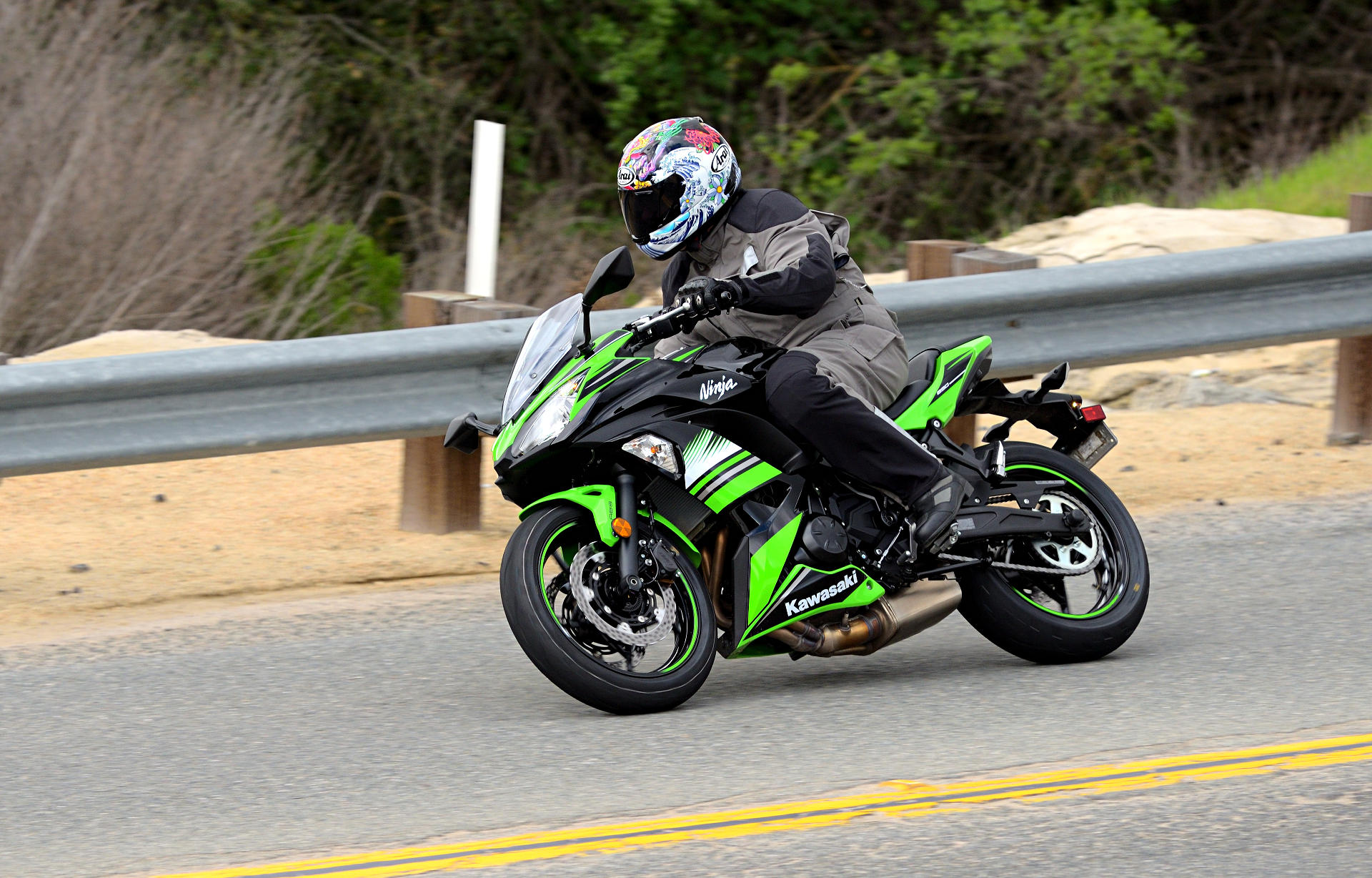 2017 Kawasaki Ninja 650 MD Ride Review