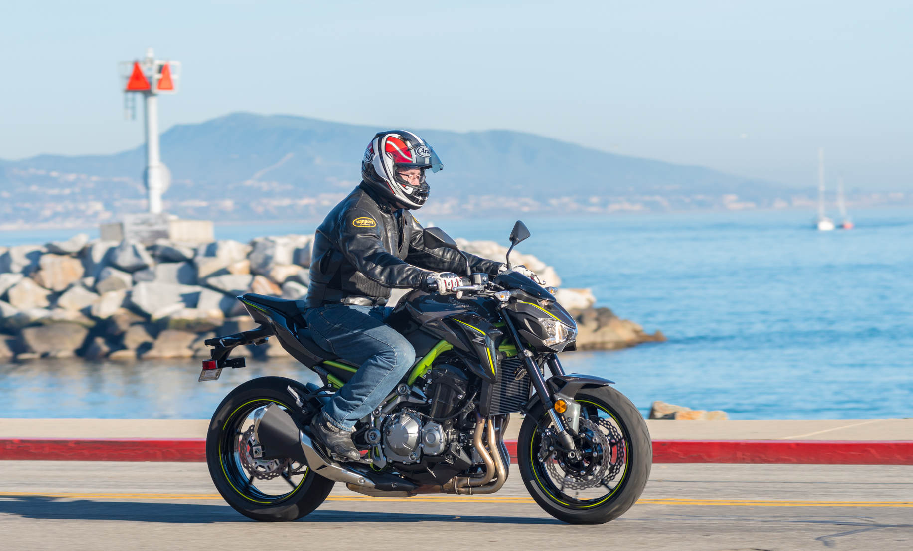 2017 Kawasaki Z900 MD First Ride Part 2