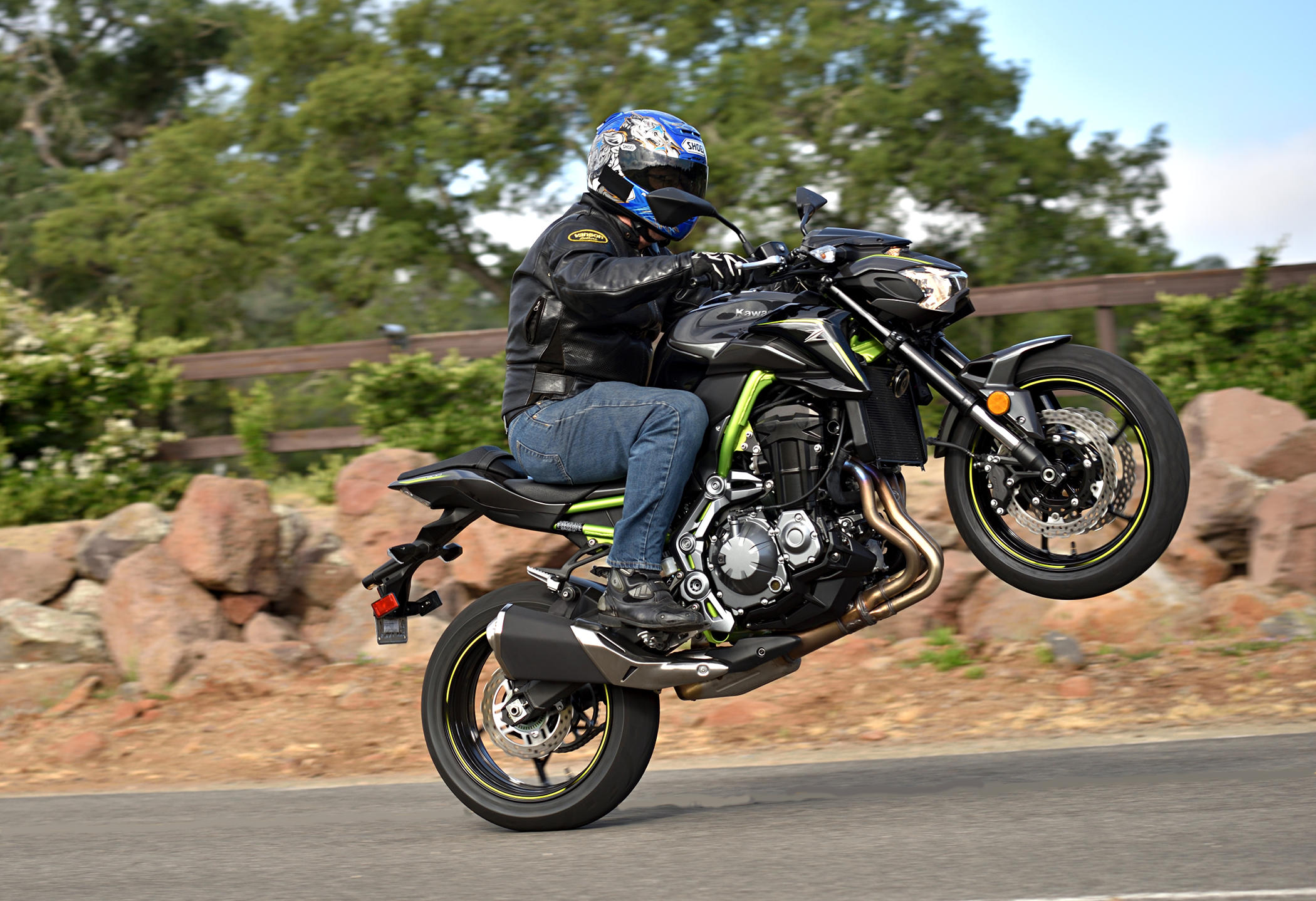 2017 Kawasaki Z900 ABS MD Ride Review