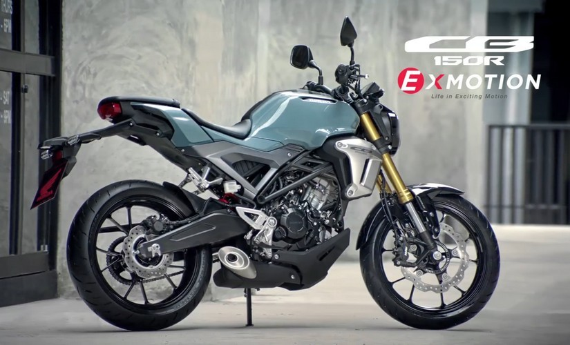 Honda Unveils High Tech CB150R ExMotion For Asian Markets With