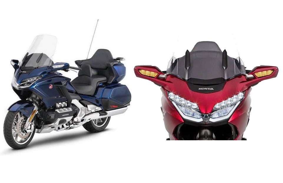 Purported Photos Renderings Of Redesigned 2018 Honda Gold Wing