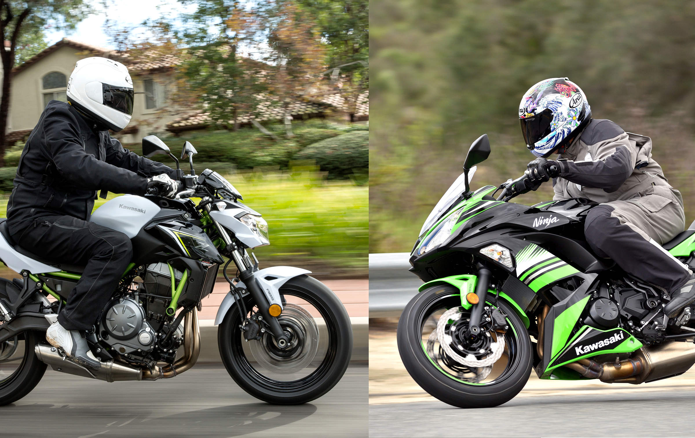 Md Bikes Of The Year Kawasaki Z650 And Ninja 650 Motorcycledaily