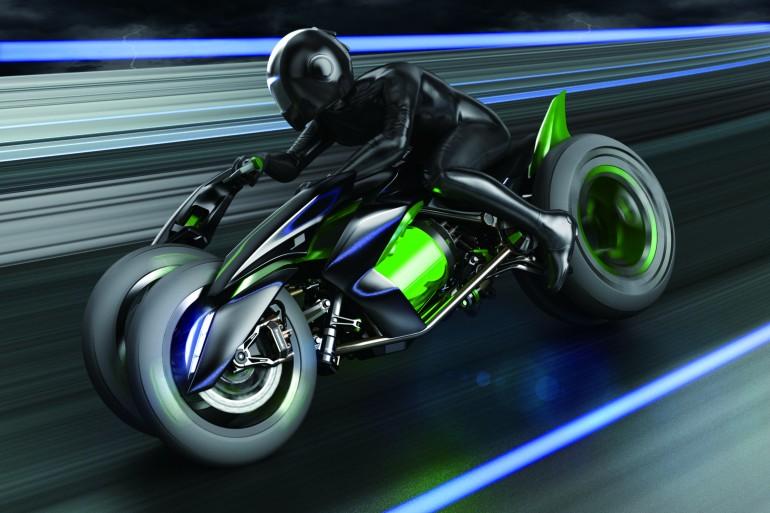 Kawasaki Three Wheeler Coming Four Years On Kawasaki Re Introduces