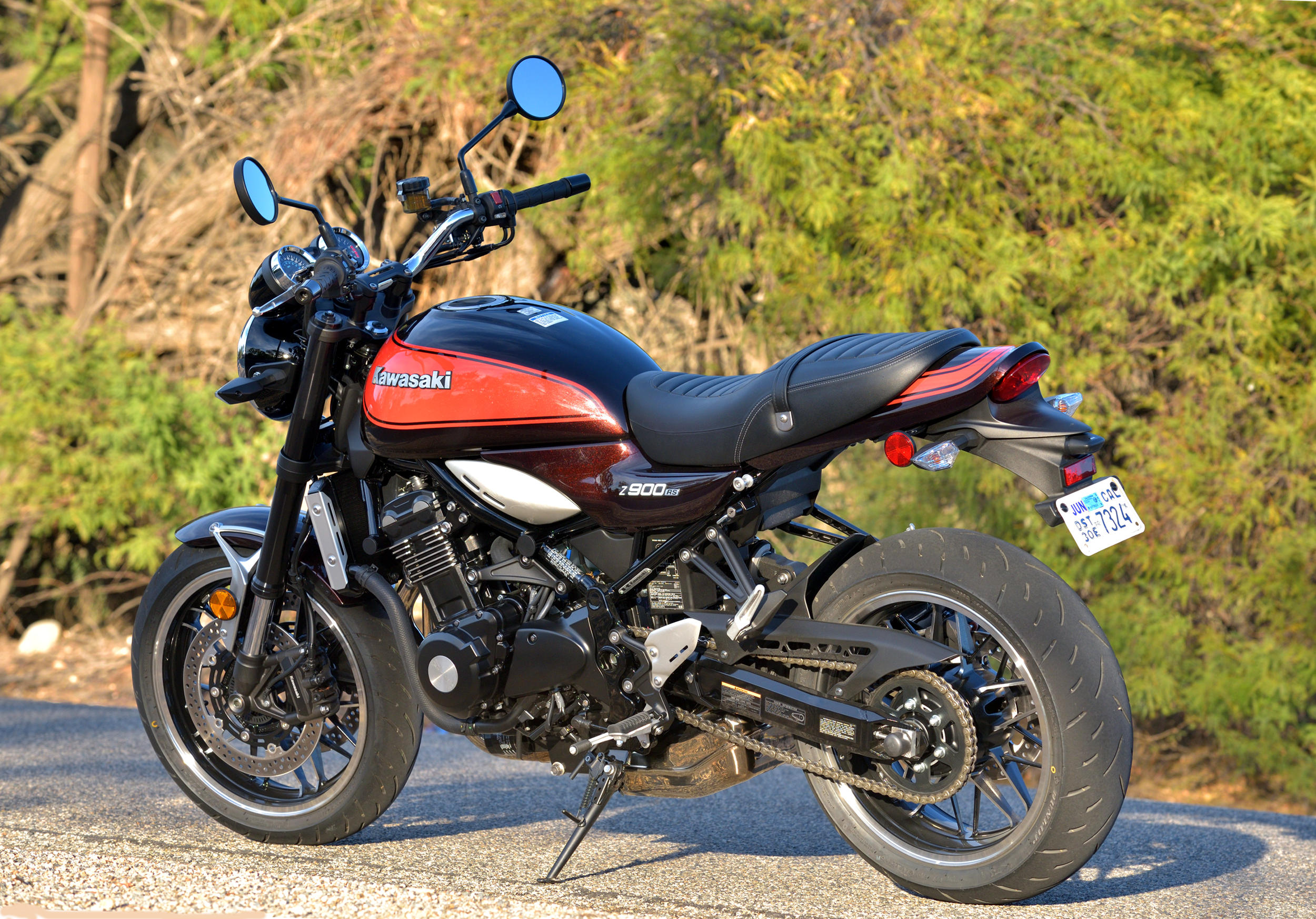 Despite Styling That Is Reminiscent Of A 1970s Era Kawasaki Z1 This Very Much Modern Motorcycle In Terms Performance