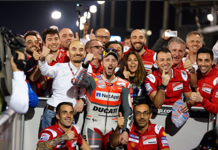An Exciting And Close Fought Opening Round To The 2018 MotoGP Championship  Series Occurred In Qatar Earlier Today. In The End, The Top Two Riders From  Last ...