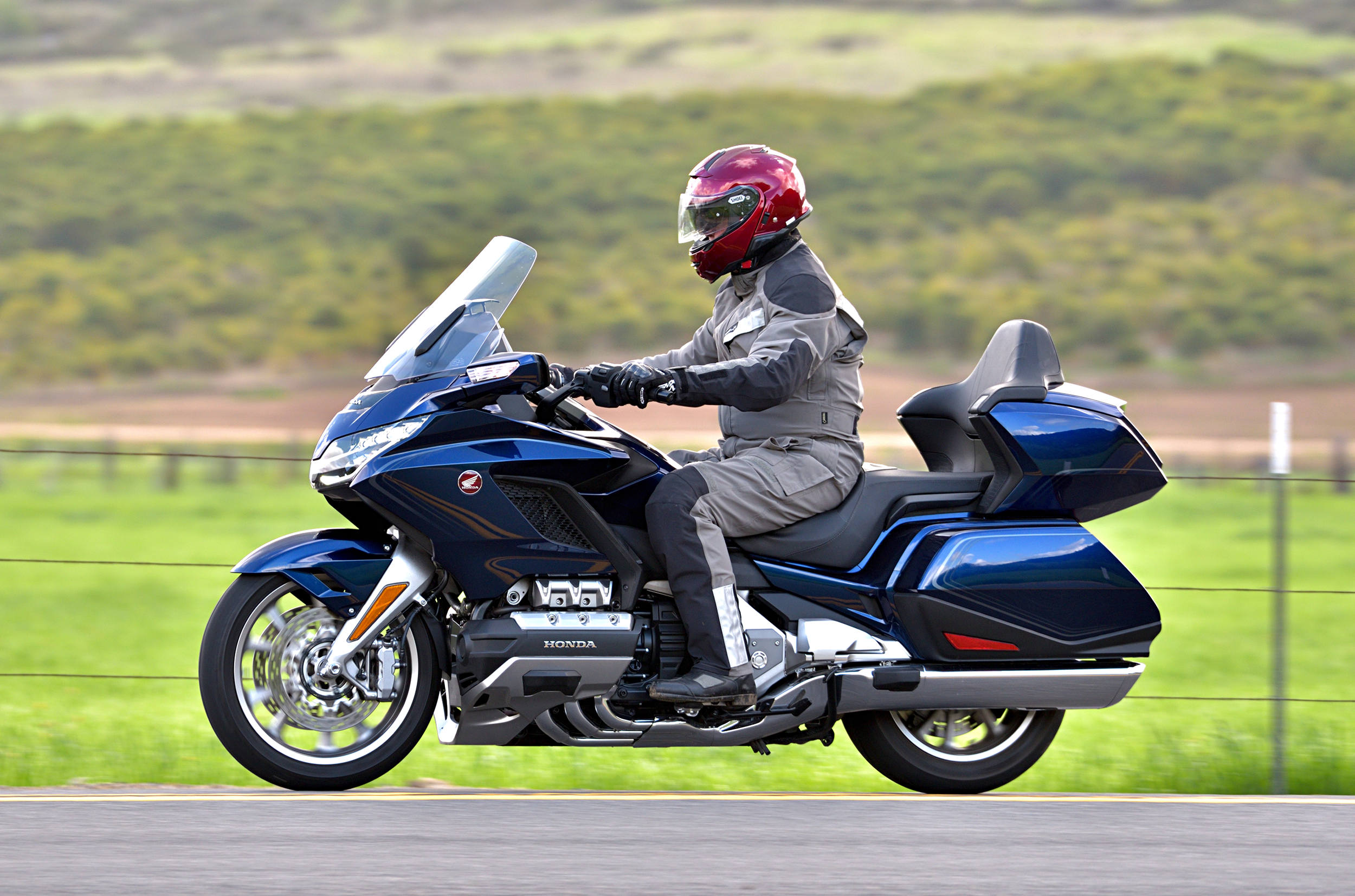 2018 Honda Gold Wing Tour Dct Md Ride Review