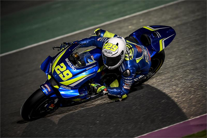 Team Suzuki Ecstar Qatar MotoGP Test Video Online « MotorcycleDaily.com – Motorcycle News ...