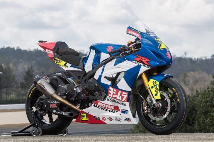 Suzuki and Yoshimura Celebrate 40-Year Partnership- 2018 GSX-R1000 Race Bike Livery Unveiled ...