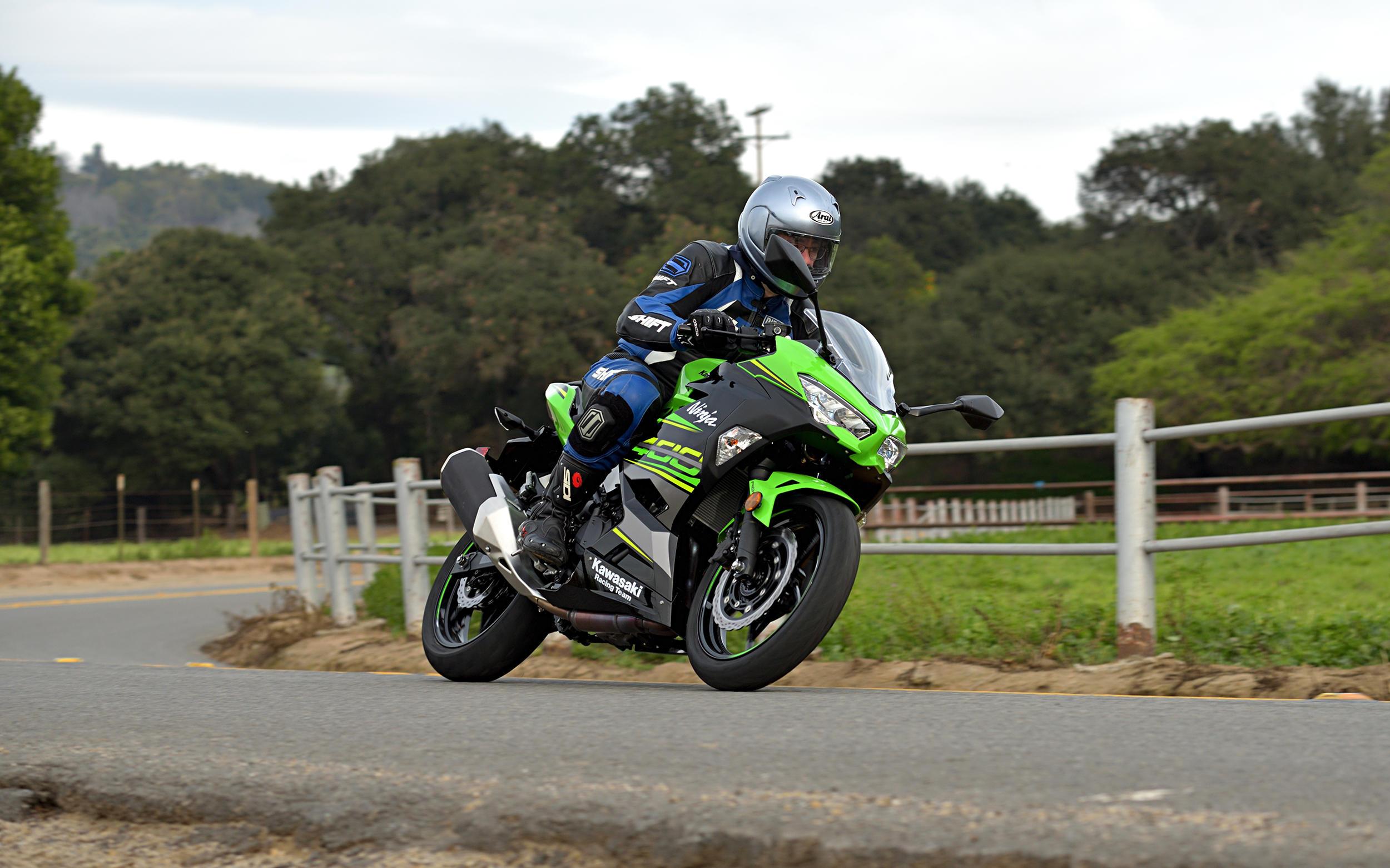 2018 Kawasaki Ninja 400 Abs Md Ride Review Motorcycledailycom