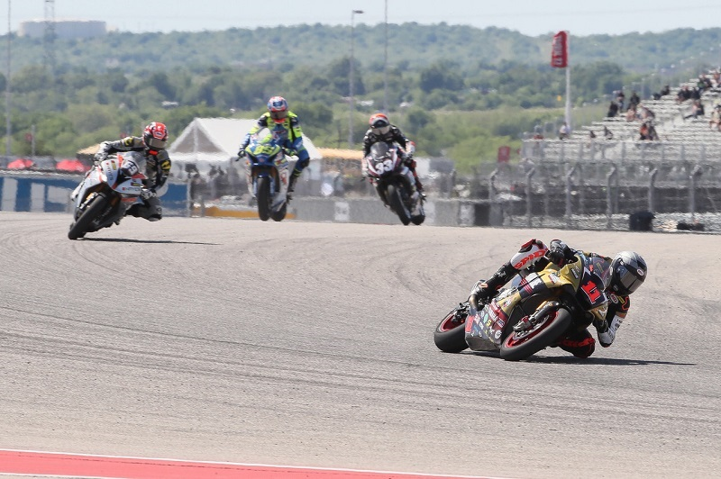 Yamalube/Westby Racing's Mathew Scholtz Finishes Just Outside The Top Five In MotoAmerica ...