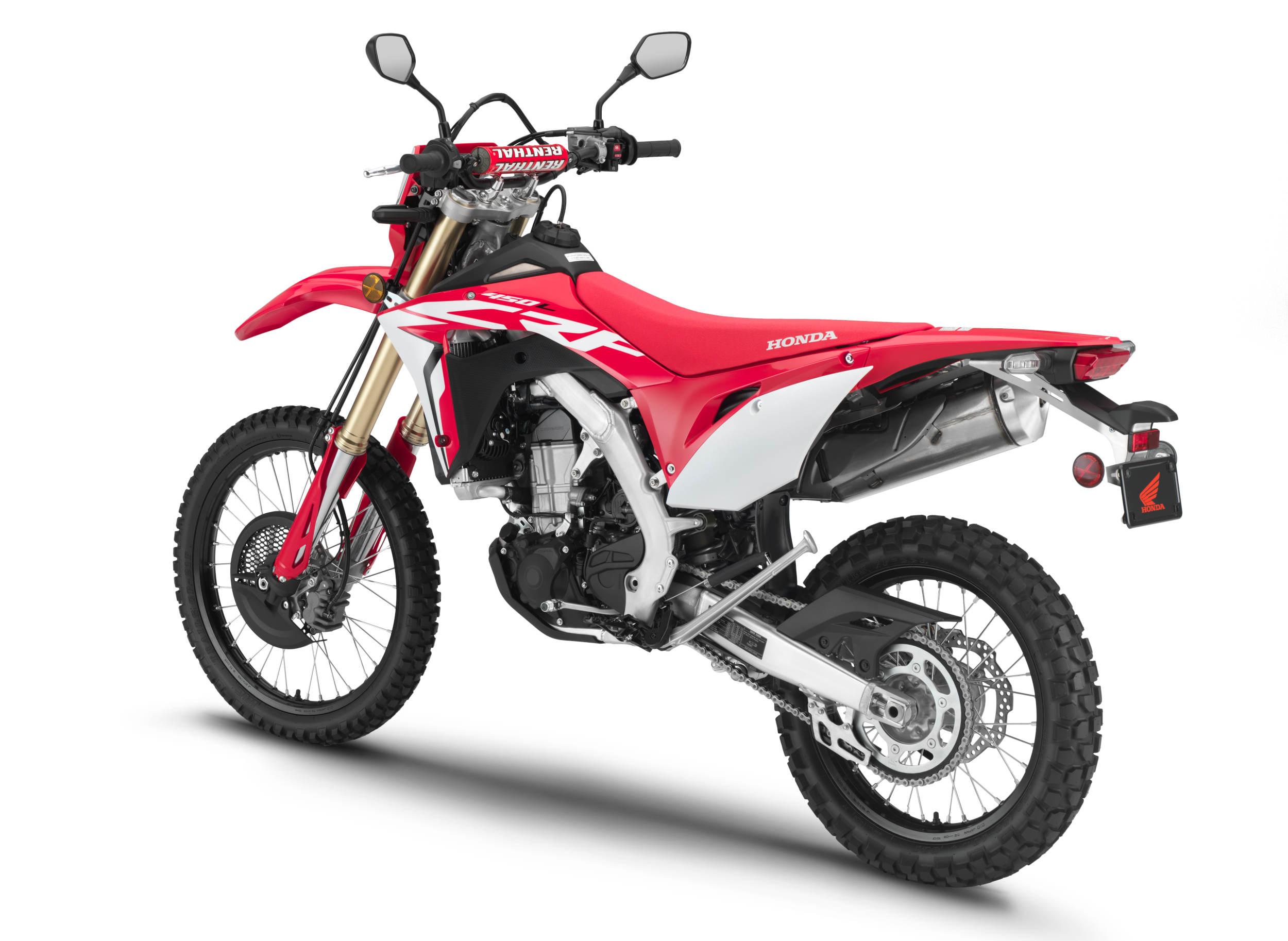 Honda Finally Introduces a Street-Legal 450cc Dual Sport