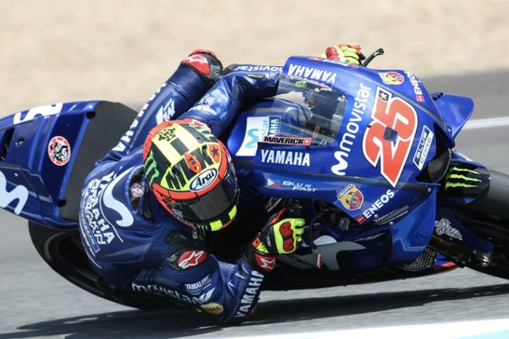 Movistar Yamaha MotoGP Prepare for French Grand Prix Fight « MotorcycleDaily.com – Motorcycle ...