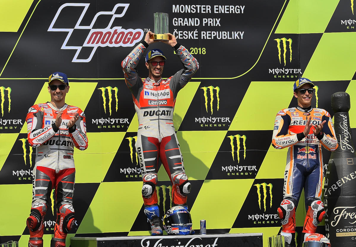 Brno MotoGP Results « MotorcycleDaily.com – Motorcycle News, Editorials, Product Reviews and ...
