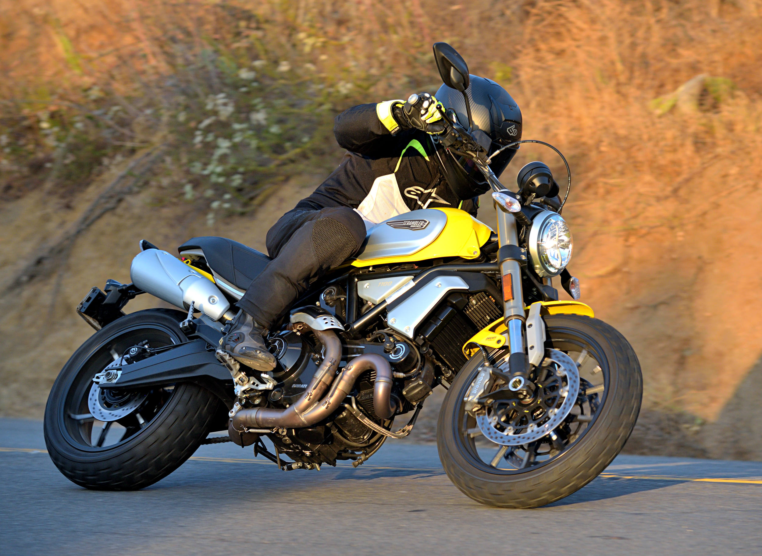 2018 Ducati Scrambler 1100 Md Ride Review Motorcycledailycom