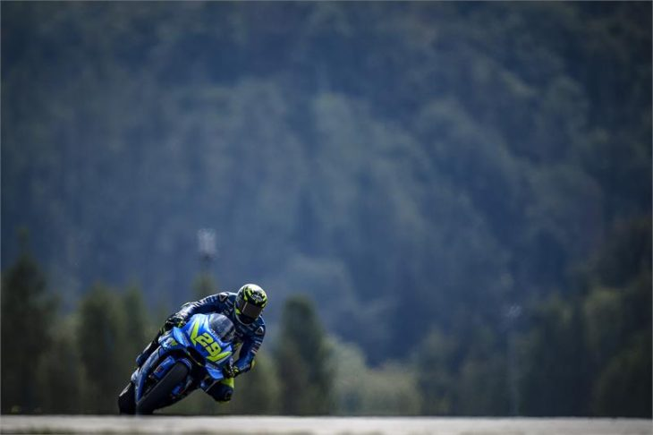 Third Row Start for Iannone and Rins in Brno (Industry Press Releases) - Motorcycle Videos