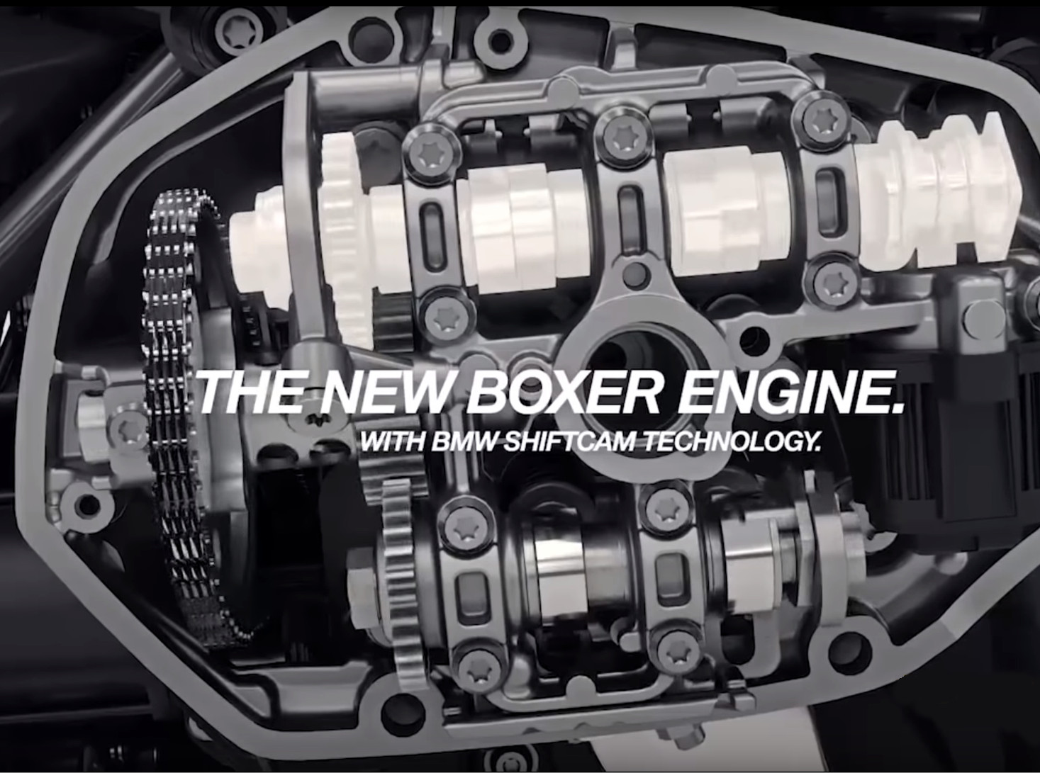 Youtube Video Reveals Bmw S New Boxer Motor With Shiftcam