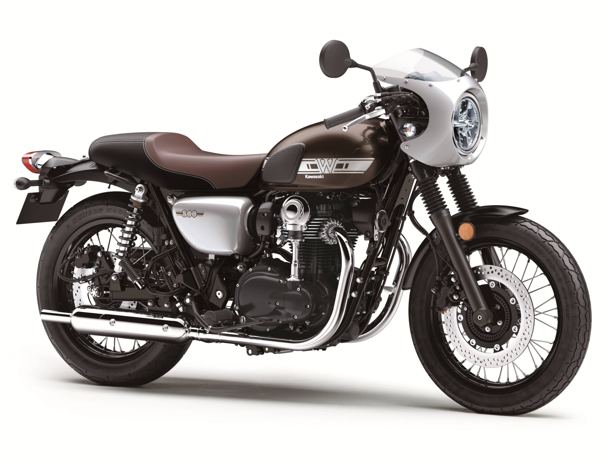 Kawasaki Brings Back Classic W800 For 2019 As A Cafe Racer